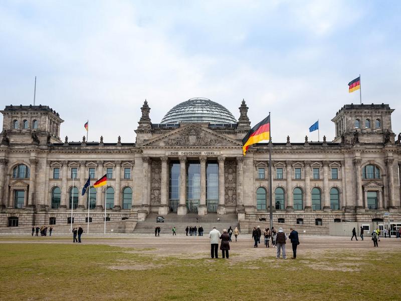 Deutscher Reichstag/Bundestag in Berlin. (Bild: Andre Borbe)
