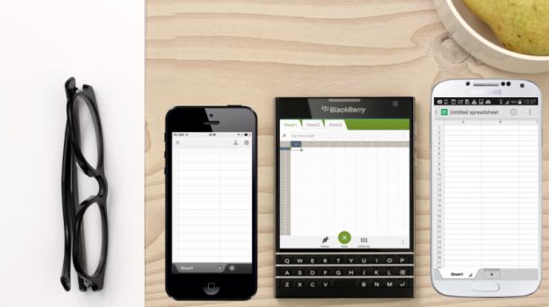 Auch mit mutigen Design-Schritten wie dem BlackBerry Passport will der Hersteller wieder die Gunst des mobilen Nutzers erlangen. Diese Geräte zielen klar auf den Business-Nutzer. Quelle: BlackBerry