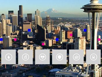 Neben der Initiative City Next zielt Microsoft auch mit neuen eigenen Cloud-Diensten auf die Bedürfnisse von Regierungen und Kommunen. Quelle: Microsoft