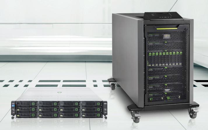 Das Ganze ist mehr als die Summe der Teile, heißt es von Fujitsu zum vorkonfigurierten Cluster in a box. Der Vorteil dieser Lösung liege vor allem darin, dass die Komponenten optimal auf einander abgestimmt sind. Quelle: Fujitsu