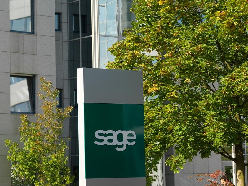 Sage Firmenzentrale in Frankfurt (Bild: Sage/Uwe Noelke)