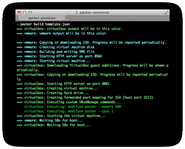 Packer.io und VMware