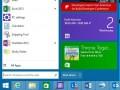 Das Startmenü von von Windows 8.1.