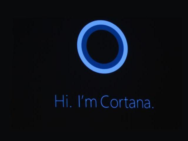 Cortana stellt sich vor. (Bild: News.com)