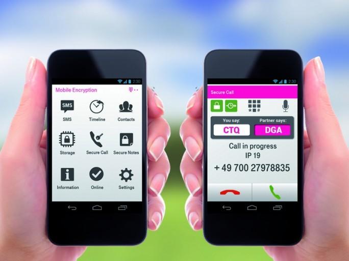 Die Mobile Encryption App soll sichere Kommunikation in jedem Netz ermöglichen. (Bild: Deutsche Telekom)
