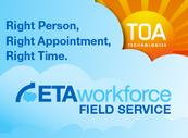 Gartner sieht TOA Technologies zusammen mit ClickSoftware als Marktführer im Bereich Field Services.