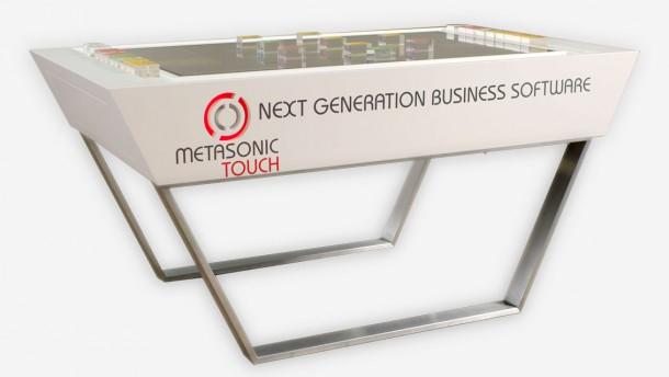 Mit diesem Tisch können mit wenigen einfachen Symbolen Business-Prozesse modelliert werden. Quelle: Metasonic
