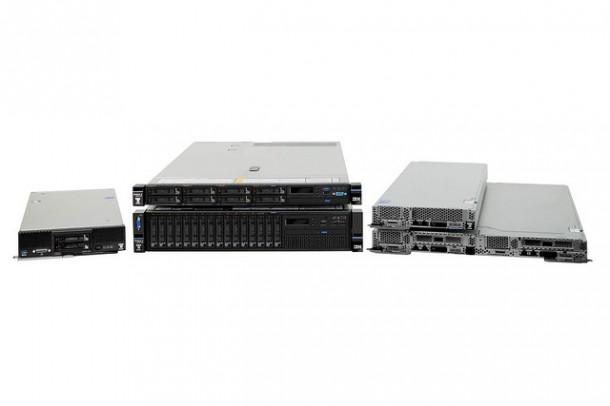 Die neuen M5-Server von IBM basieren auf dem frisch vorgestelltem Xeon E5 v3. Quelle: IBM