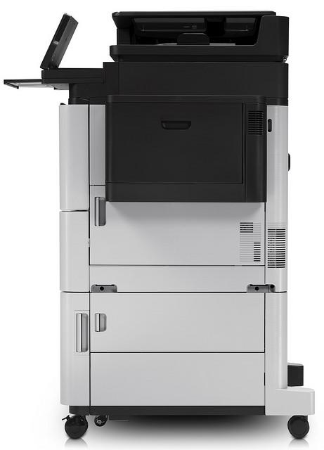 Der neue HP LaserJet Enterprise Flow Multifunktionsdrucker (MFP) aus der M630-Serie. Quelle: HP