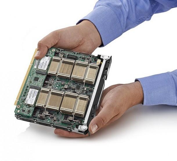 HP ProLiant m800 Server Cartridge. Quelle: HP