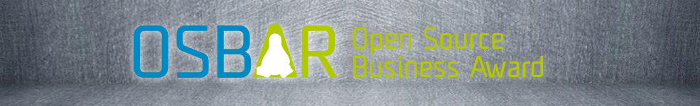 Der OSBAR, der neue Open-Source-Preis der Open Source Business Alliance. Quelle: OSB Alliance