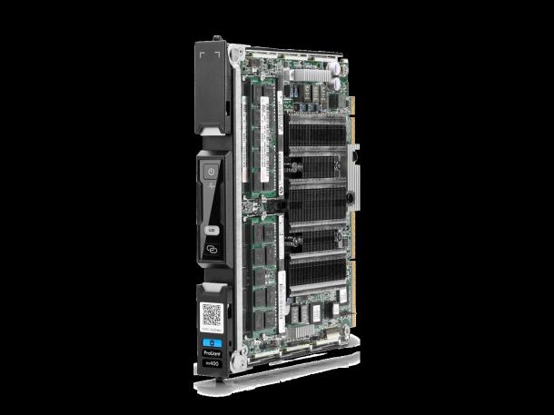 Der neue Moonshot ProLiant HP m400 wird von dem AppliedMicro X-Gene Processor angetrieben, der auf acht ARM64 Bit kernen mit jeweils 2.4 GHz basiert. Quelle: HP