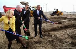 Erster Spatenstich für Googles neues Rechenzentrum in den Niederlanden (Bild: Google).