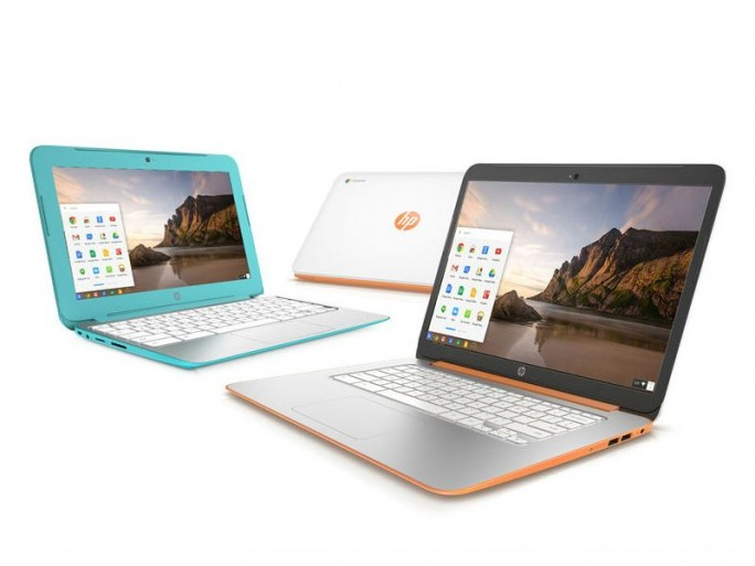 HP-hatte  im Oktober aktualisierte Chromebooks in den Handel gebracht (Bild: HP).