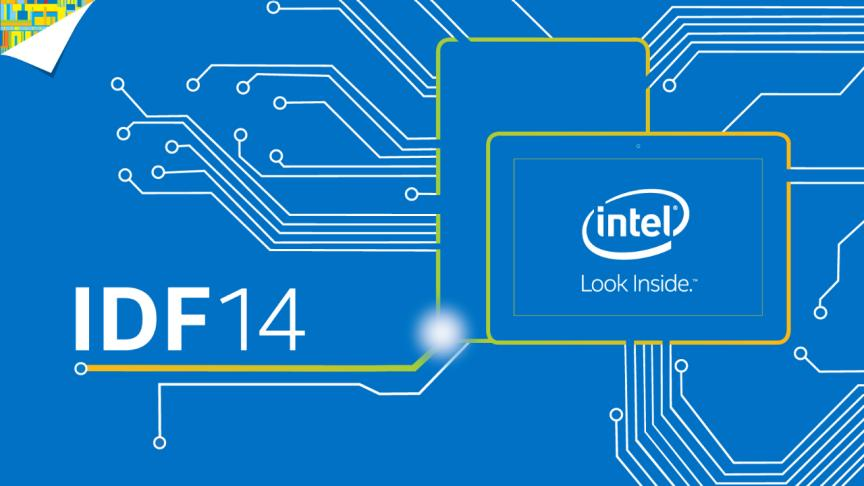 Auf dem Intel Developer Forum 2014 stellt der Hersteller unter anderem einen neuen Xeon-Prozessor vor. Quelle: Intel