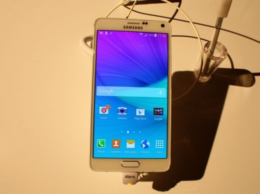 Samsung Galaxy Note 4 (Bild: CNET.de)