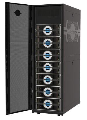 Jede Menge Speicher. Seagate integriert in dem Clusterstor 9000 und dem Lustre-File-System für HPC-Anwendungen. Quelle: Seagate