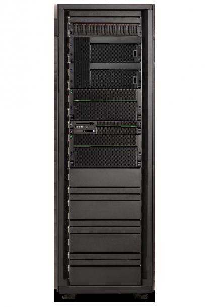 Der neue Power8-basierte Power Enterprise Systeme E870 sorgt laut IBM für höchste Leistungsfähigkeit und Datendurchsatz. Quelle: IBM