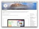 Kostenloser Upgrade: Apple Mac OS X 10.10 Yosemite