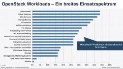 Was läuft auf OpenStack in deutschen Unternehmen? Quelle: Crisp Research