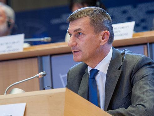 Andrus Ansip, Designierter EU-Kommissar für den digitalen Binnenmarkt. Quelle: (CC) © European Union 2014 - European Parliament