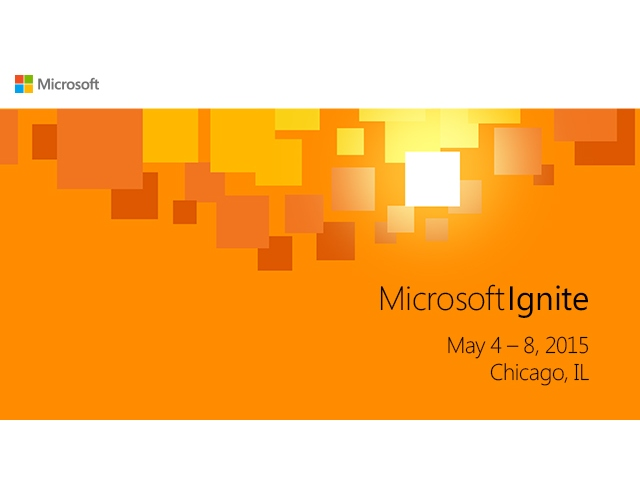 Logo Microsoft Ignite 2015 (Bild: Microsoft)