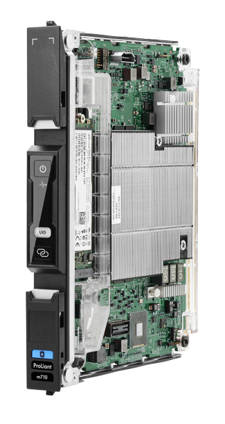 Das Moonshot ProLiant m710-Cartridge. Quelle: HP