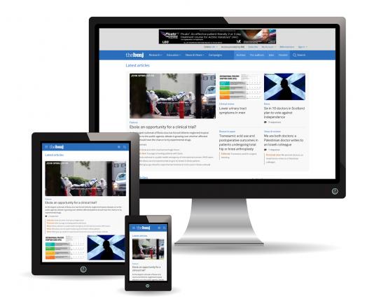 Mit Drupal erstellte Web-Seiten auf verschiedenen Plattformen. Quelle: Drupal