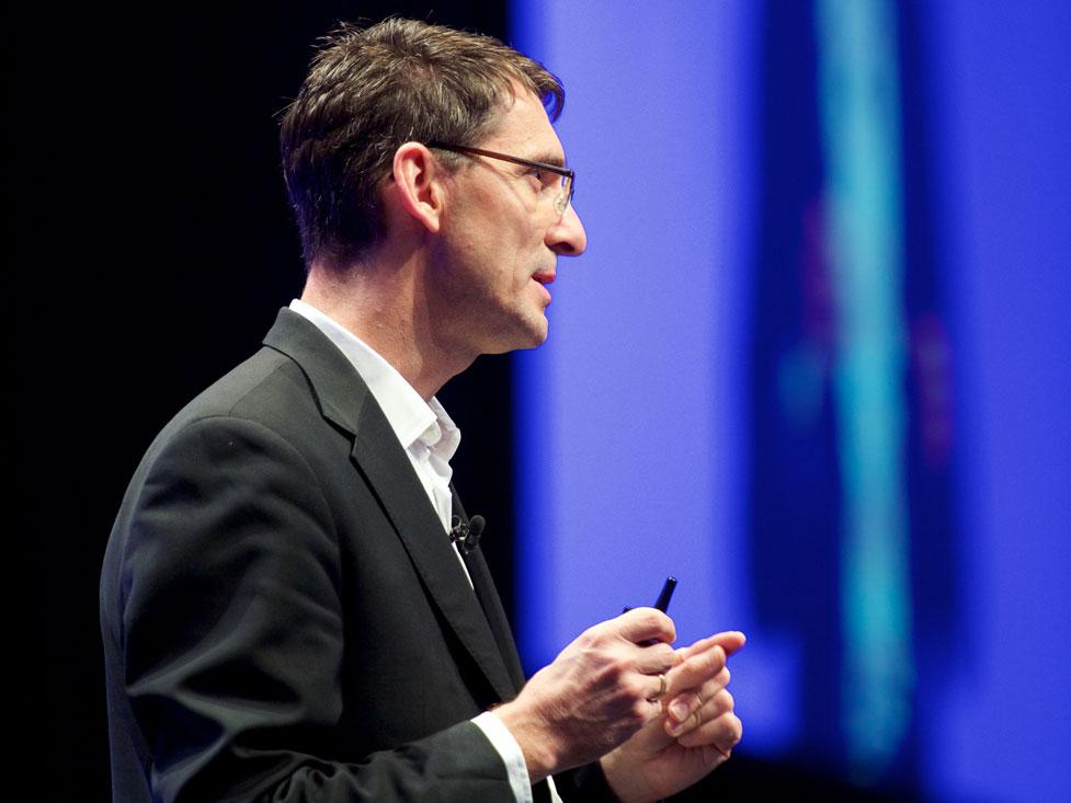 Bernd Leukert, SAP-Vorstand. (Bild: SAP)
