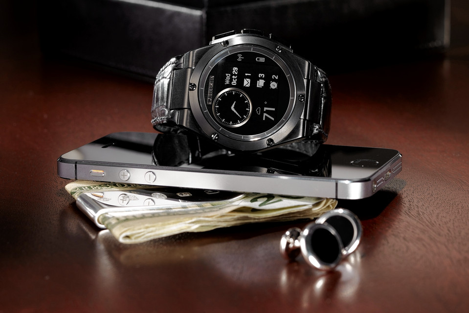 HPs Smartwatch MB Chronowing (Bild: HP)