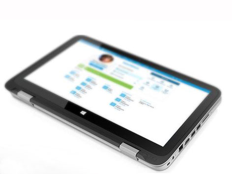 HP Touchpoint Manager. Quelle: HP