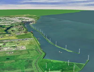 Google Plant Rechenzentrum Mit Windenergie In Holland
