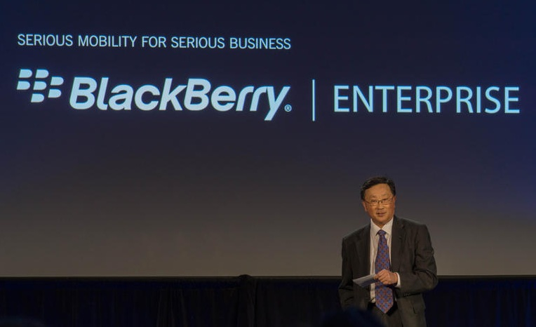 John Chen, CEO BlackBerry. (Bild: News.com)