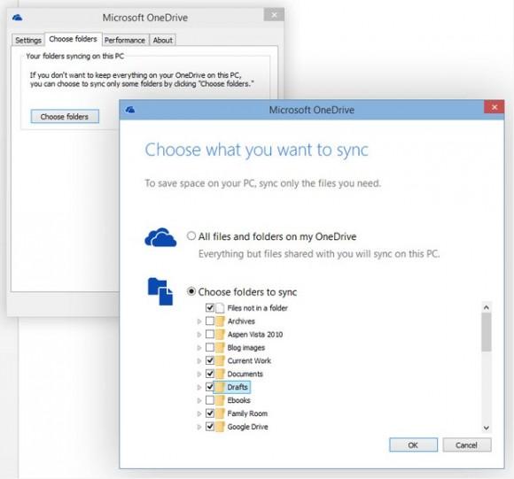 Microsoft hebt die Synchronisationsbeschränkung von 20000 Dateien auf. (Screenshot: silicon.de)