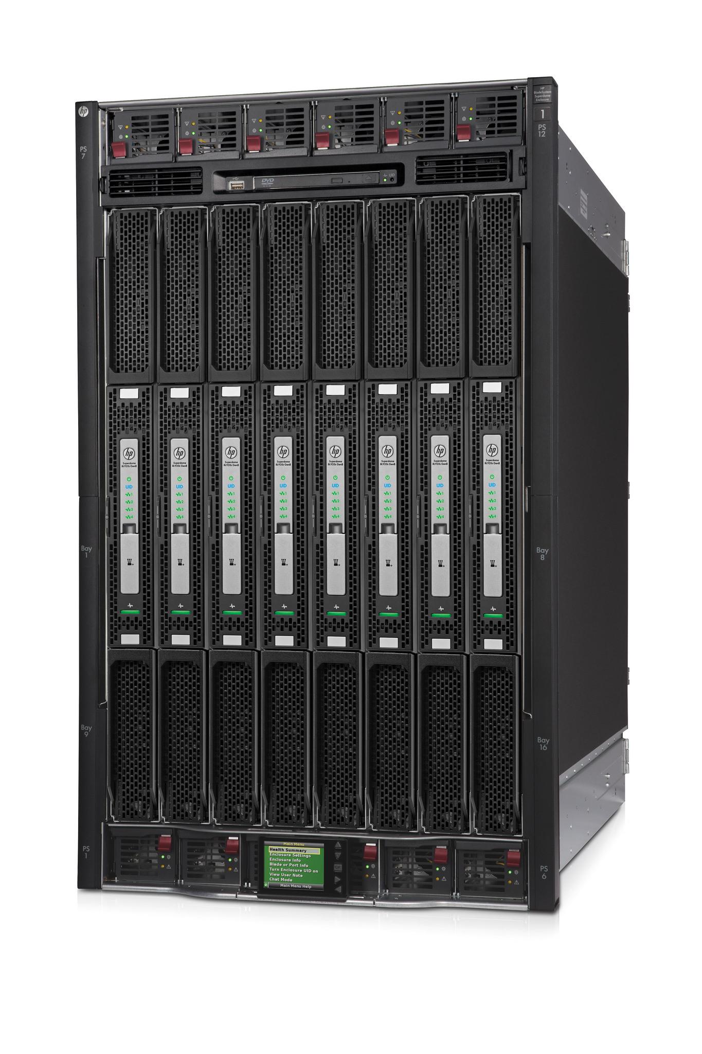 HP Integrity Superdome X bringt Hochleistungsrechner auf x86-Prozessoren. (Bild: HP)