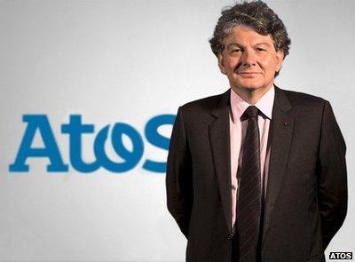 Thierry Breton, CEO Atos Origin.