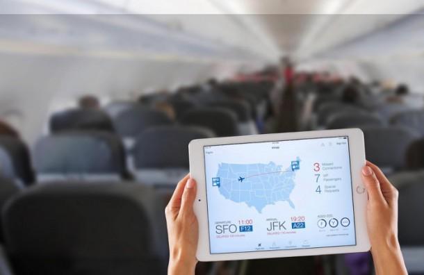 Flugbuchung auf dem iPad. (Bild: IBM)