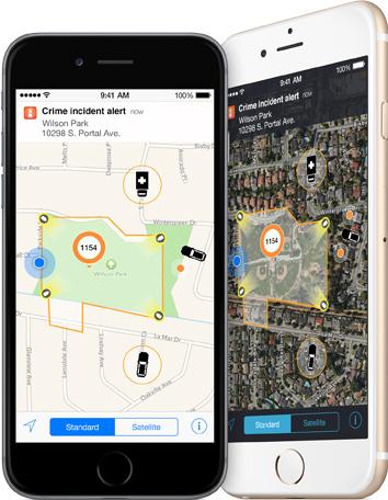 """""""Incident-Aware"""" soll Polizeibeamten die Arbeit erleichtern. (Bild: Apple)"""