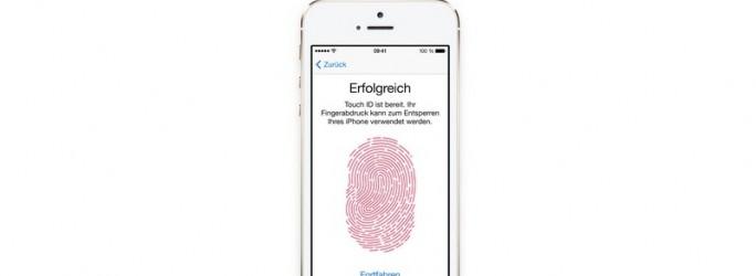 iPhone 5S Touch ID (Bild: Apple)