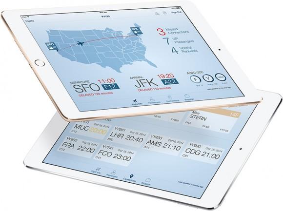 """Passenger+"""" ist ein Hilfsmittel für Flugbegleiter. (Bild: Apple)"""
