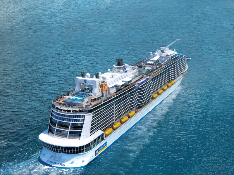 Kreuzfahrtschiff Quantum of the Seas (Bild: Royal Caribbean International)