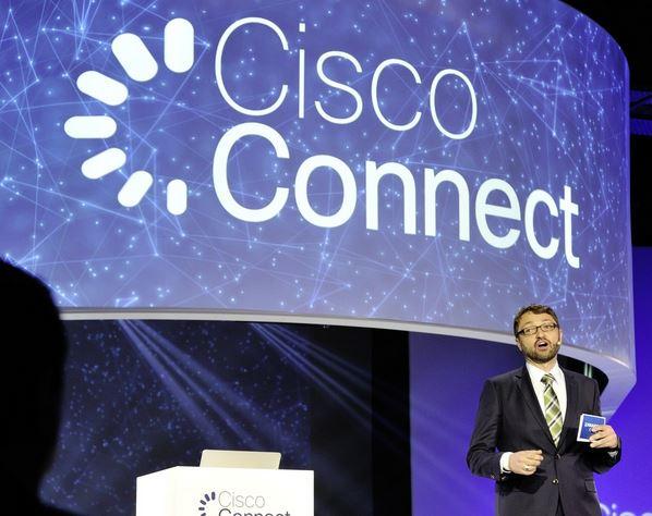 Oliver Tuszik, Vice President, Cisco Germany, will über das konzept Fog-Computing die Netze entlasten. (Bild: Cisco)