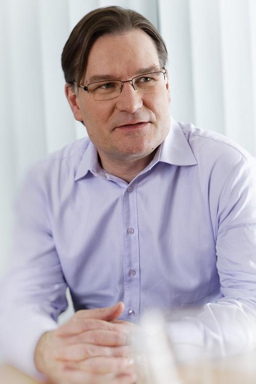 Gigaset-Geschäftsführer Charles Fränkl (Bild: Gigaset)