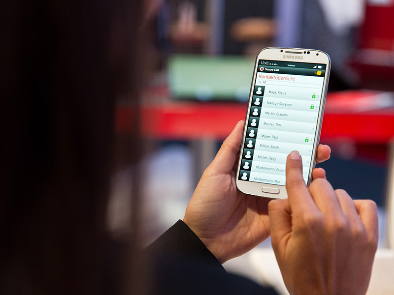 Vodafone Secure Call (Bild: Vodafone)