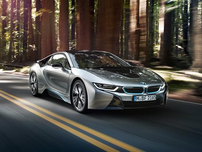 BMW i8 (Bild: BMW)