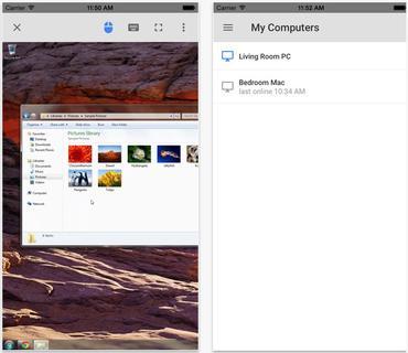 Chrome Remote Desktop (Screenshot: ZDNet.com)
