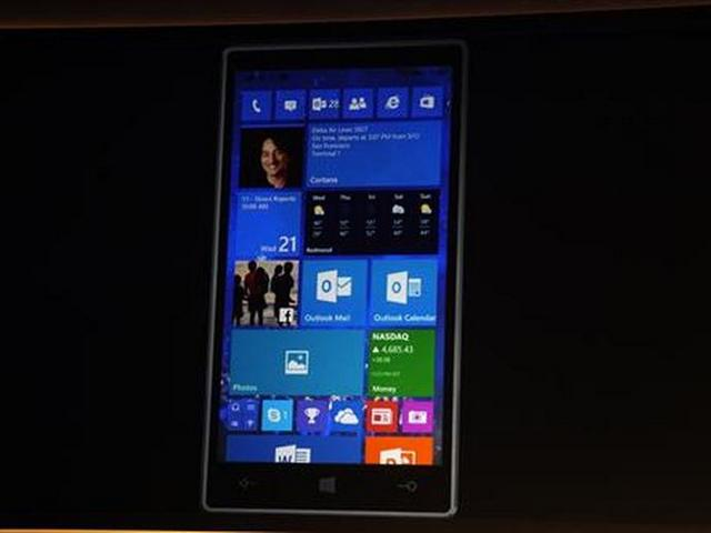 Windows 10 Mobile (Bild: Nate Ralph/CNET)