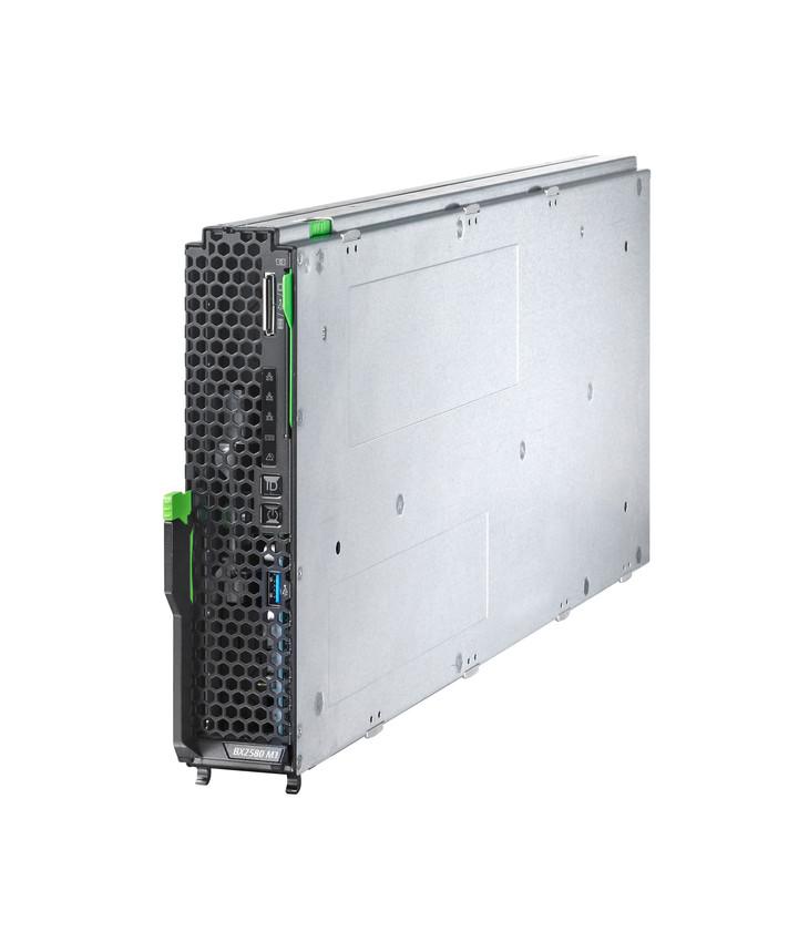 Der neue Blade-Server BX2580. (Bild: Fujitsu)