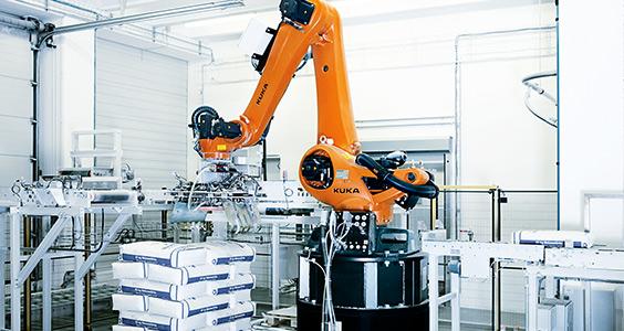Industrie 4.0, auch für Kuka ein Thema. (Bild: Kuka)