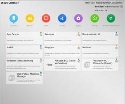 Infrastrukturverwaltung mit dem Univention Corporate Server. Über das Univention App Center lassen sich neue Anwendungen schnell mit einer Nutzerverwaltung im Unternehmensnetzwerk freischalten. (Bild: Univention)
